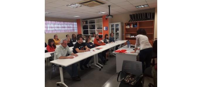 Comisiones Obreras Castilla y Leon da una charla sobre prevención de adicciones a la plantilla de Foremcyl en Valladolid