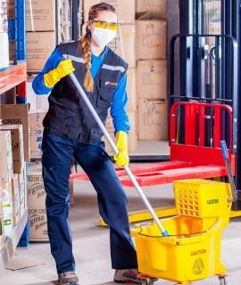 MF1088_1: Técnicas y procedimientos de limpieza con utilización de maquinaria.