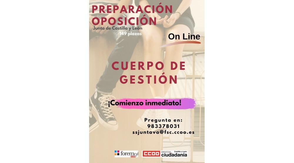 Preparación Oposiciones Cuerpo de Gestión