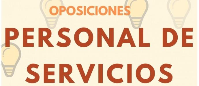 Preparación Oposiciones Personal de Servicios