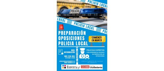 PREPARACIÓN DE OPOSICIONES POLICIA LOCAL
